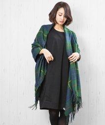 mili an deni/大判チェックストール 大判 ストール チェック マフラー アクセサリー ファッション小物 レディース/501463606