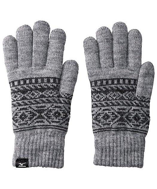 ミズノ/手袋(ふわもこ)