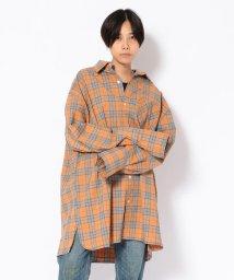 LHP/chica/チカ/BIGチェックシャツ/501433280