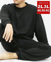 MARUKAWA/大きいサイズ 上下セット 裏毛 スウェット/501440444