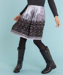 agnes b. FEMME/NR56 JUPE フォトプリントスカート/501459946