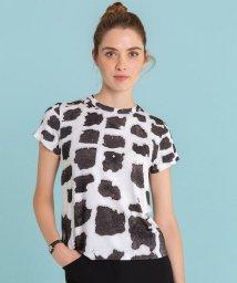 agnes b. FEMME/NR57 TS フォトプリントTシャツ/501459948