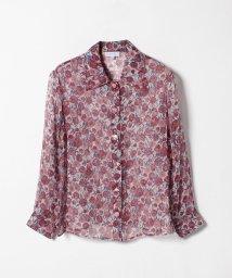 agnes b. FEMME/IBM7 CHEMISE 花柄シルクシャツ/501459950