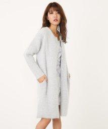 rienda/Angora nylon knitノーカラーCD/501462888