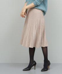 ROPE'/【セットアップ対応】ラメニットプリーツスカート/501466253