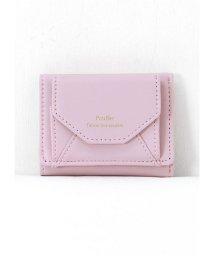 HAPPY EXP/シンプルカラーミニ三つ折り財布/501466732