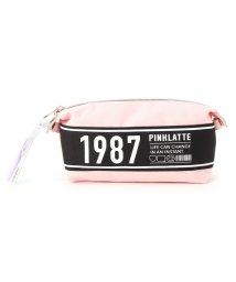 PINK-latte/ロゴ・スナップポーチ/501468742