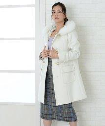 BELLE BELLA/★ビット付きダッフルコート/501422686