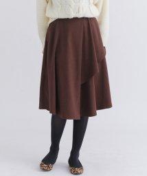 URBAN RESEARCH/【SonnyLabel】イレギュラーヘムラップスカート/501457758