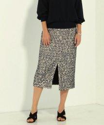 Ravissant Laviere/ファンシーツイードタイトスカート/501456591
