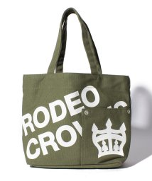 RODEO CROWNS(BAG)/【RODEO CROWNS】LOGO CANVAS LANCH TOTE/501458416