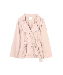 ROSE BUD/FRILL BACK MIRITALY  TRENCH JACKET/501469369