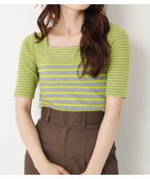 SLY/SQUARE N/C BORDER TOPS/501469567