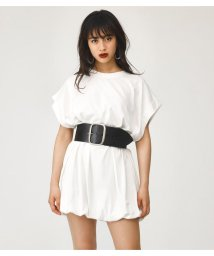 SLY/ROLL UP BIG TEE ROMPERS/501469579