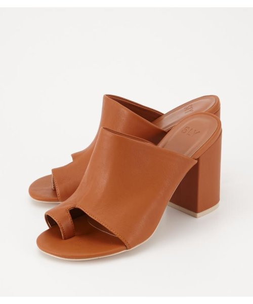 SLY(スライ)/COVERED BOOTIE SANDAL/030BSM55-0120
