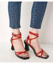 SLY/CROSS TUBE HEEL SANDAL/501469917