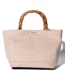 MOUSSY(BAG)/【MOUSSY】BAMBOO WOOL TOTE S/501458386