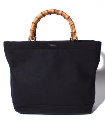 MOUSSY(BAG)/【MOUSSY】BAMBOO WOOL TOTE M/501458387