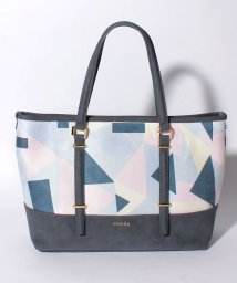 rienda(BAG)/【rienda】GEOMETRY PRINT CHANGE TOTE/501458403