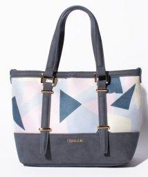 rienda(BAG)/【rienda】GEOMETRY PRINT CHANGE TOTE S/501458404