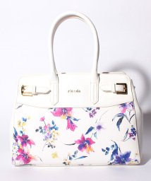 rienda(BAG)/【rienda】BLUR FLOWER PT SIDE BELT TOTE/501458406