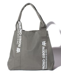 RODEO CROWNS(BAG)/【RODEO CROWNS】NYLON PRINT TOTE 横/501458411