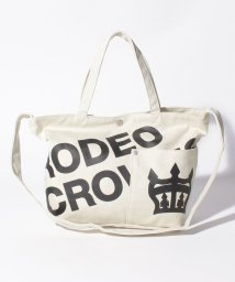 RODEO CROWNS(BAG)/【RODEO CROWNS】LOGO CANVAS TOTE SHOULDER/501458415