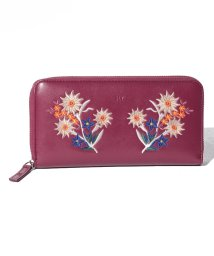 SLY(BAG)/【SLY】EMBROIDERY ROUND ZIPPED WALLET/501458420