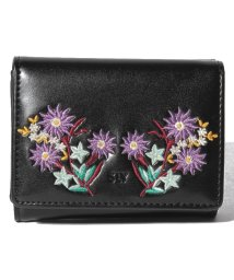 SLY(BAG)/【SLY】EMBROIDERY TRIFOLD WALLET/501458421