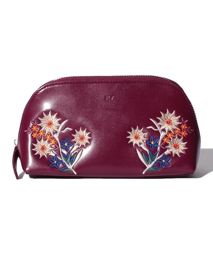 【SLY】EMBROIDERY POUCH