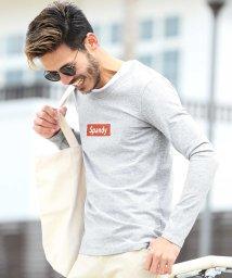 JIGGYS SHOP/マルチロゴパターン ロンT / ロンT メンズ 長袖Tシャツ Tシャツ 長袖 カットソー ロンティー/500900950