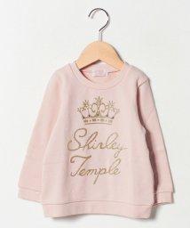 ShirleyTemple/ラメクラウン&ロゴトレーナー(100~130cm)/501442160