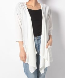 NICE CLAUP OUTLET/【natural couture】TR天竺トッパーカーディガン/501449297