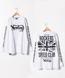 MARUKAWA/【NORTON】 大きいサイズ 長袖 プリント Tシャツ/501457799
