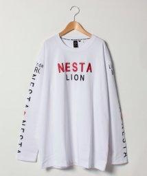 MARUKAWA/【NESTA BRAND】 大きいサイズ 長袖 プリント Tシャツ/501457801