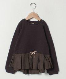 petit main/タックぺプラムTシャツ/501463578