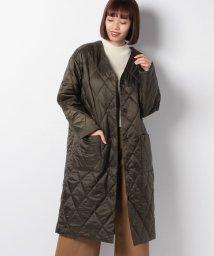 MARcourt/【mizuiro ind】V neck quilt coat/501466461