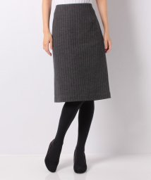 LA JOCONDE/【セットアップ対応】ダブルジャージ―ストライプタイトスカート/501466580