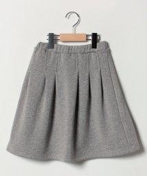 b-ROOM/【EC別注】タックプリーツ裏起毛スカート/501467425