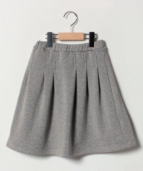 b-ROOM(ビールーム)/【EC別注】タックプリーツ裏起毛スカート/9884181