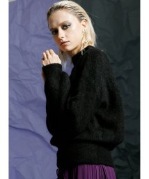MIELIINVARIANT/モヘアブレンドセータートップス / Mohairblend sweater Tops/501468618