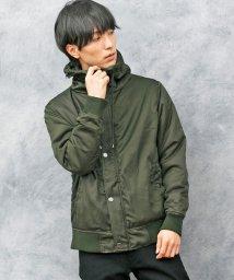TopIsm/ボリュームネック中綿入りジャケット/501470982
