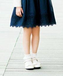 anyFAM(KIDS)/【KIDS雑貨】セレモニー エナメルリボンスカラップ パンプス/501473563