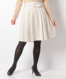 Eimy Peal by POWDER SUGAR/スクエアバックルサッシュベルト付きスカート/501442070