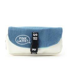 PINK-latte/シングルベルトポーチ/501477183
