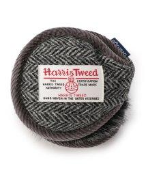 SHIPS JET BLUE/average:Harris Tweed イヤーマフ/501477257