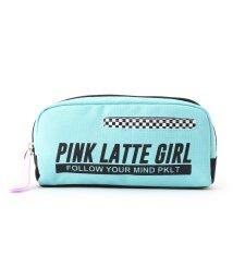 PINK-latte/チェッカーポケポーチ/501477331