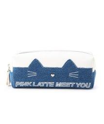 PINK-latte/ネコポーチ/501477333
