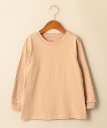 green label relaxing (Kids)/【キッズ】〔別注〕Hanes(ヘインズ)BEEFY Tシャツロングスリーブ/501444054