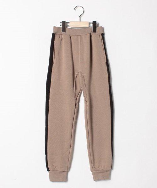 b-ROOM(ビールーム)/【EC別注】裾リブ裏起毛カットパンツ/9884191
